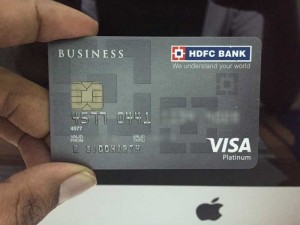 My HDFC Business Platinum Visa Credit Card