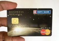 HDFC Regalia Credit Card