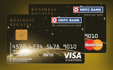 Business Regalia Credit Card