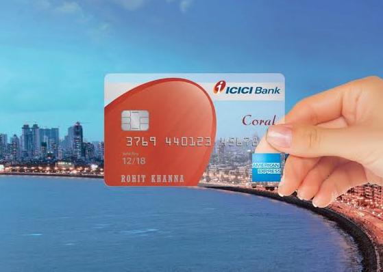 ICICI Bank Coral Credit Card Amex