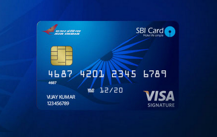 SBI Air India Signature Credit Card