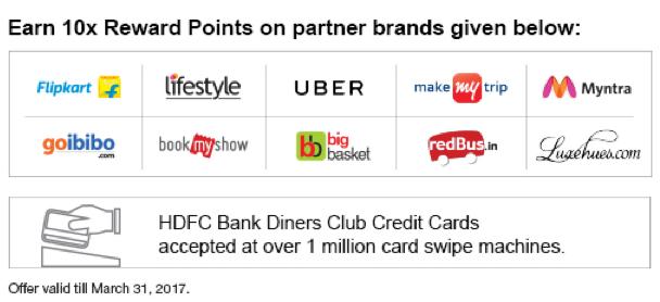 10x rewards partners