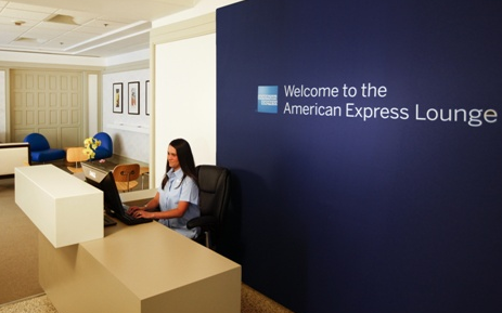 American Express Lounge (this not in india)