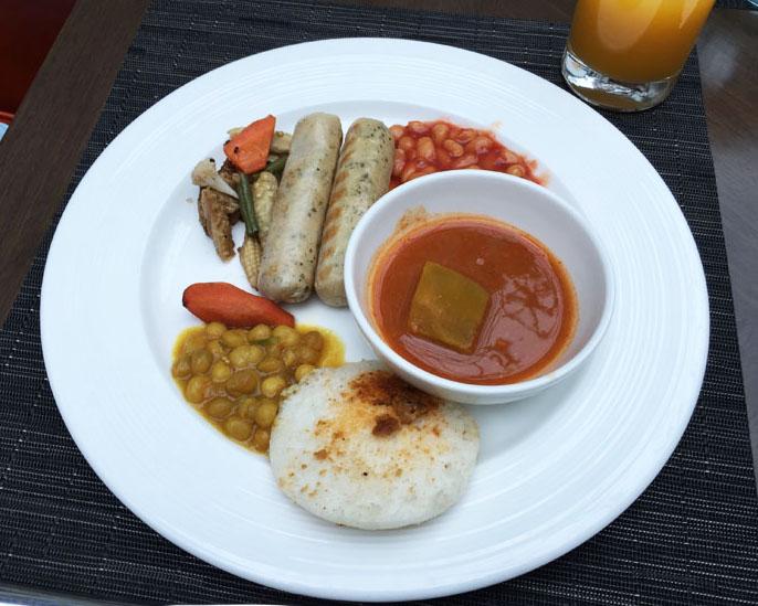 Taj Santacruz breakfast