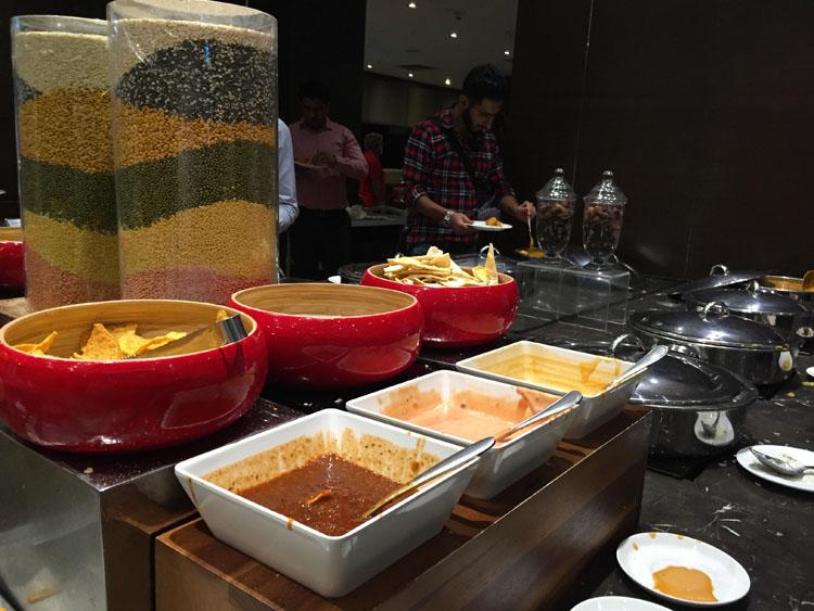 Plaza Premium Lounge at Delhi - starters