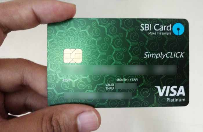 SBI SimplyCLICK Credit Card Review Good For Online Spends CardExpert - Invoice word doc online store credit cards guaranteed approval