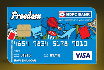 HDFC Freedom Credit Card