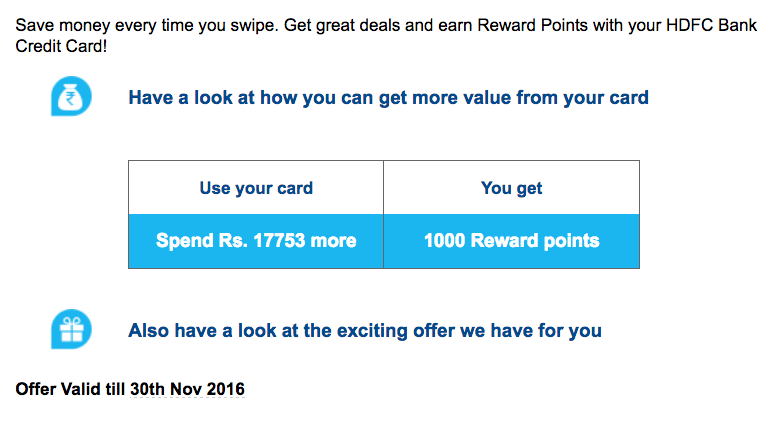 spend-based-offer-on-hdfc-credit-card