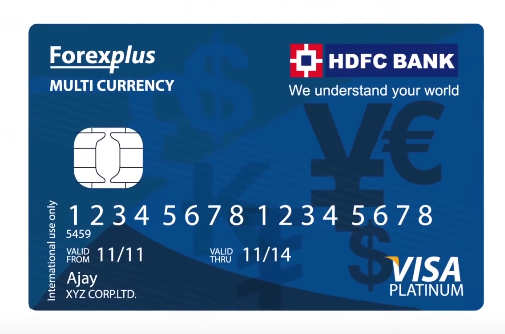 Hdfc multi currency forex card charges