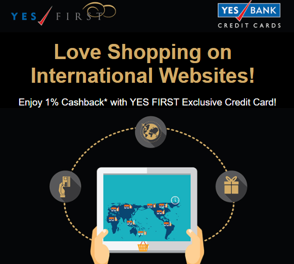 Get 1% Cashback On International Spends With Yesbank
