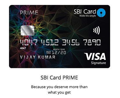 get sbi credit card
