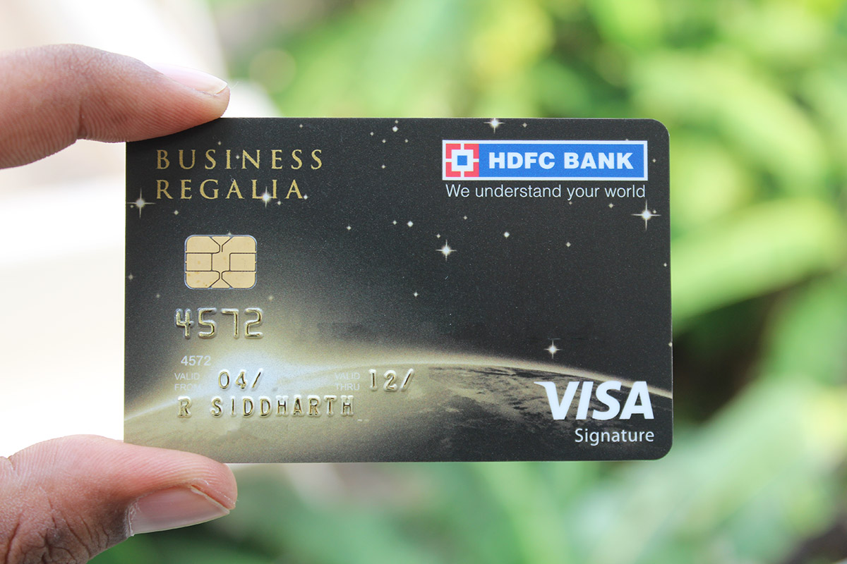 Hdfc regalia forex card