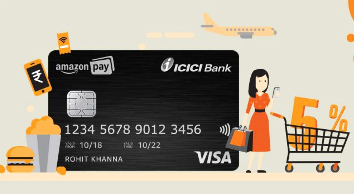Icici Bank Launches Amazon Pay Credit Card Save 5 On Amazon