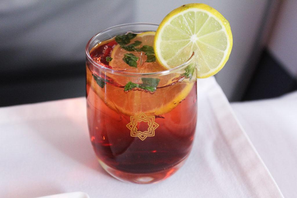 Vistara Business Class - Mocktail - BlackCurrant