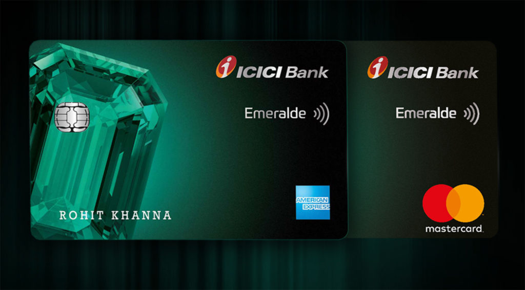 ICICI Bank Emeralde Credit Card variants