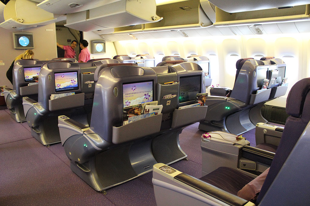 Thai Airways Business Class from Bangkok to Ho Chi Minh City