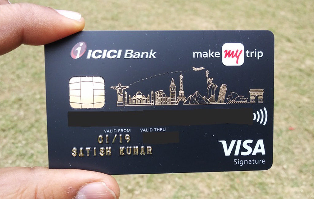 online pay icici bank credit card