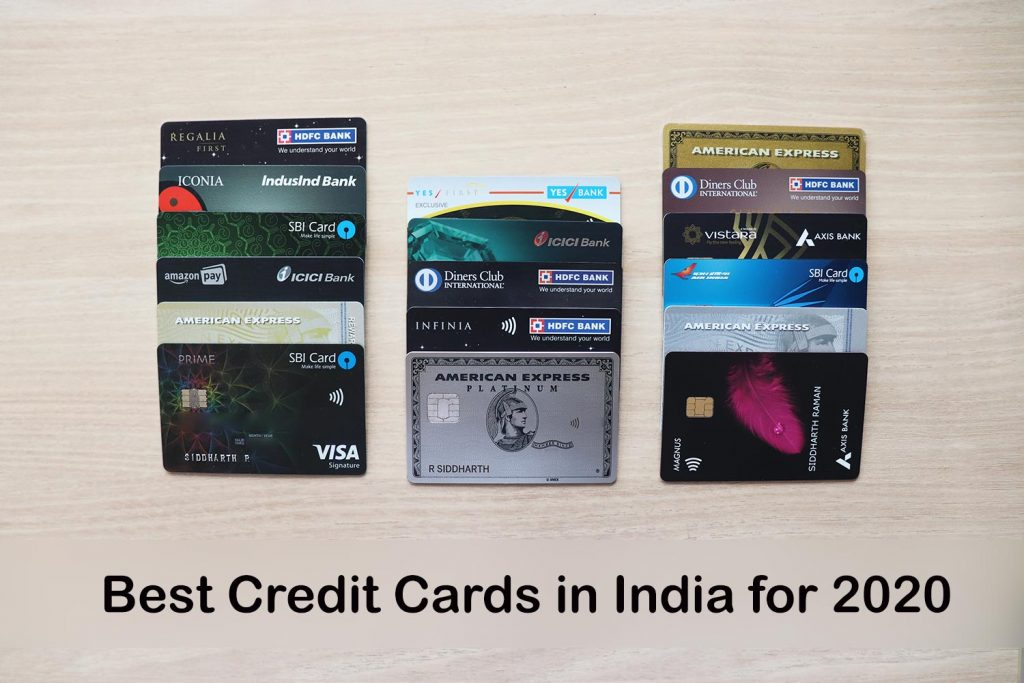 Best Credit Cards in India 2020
