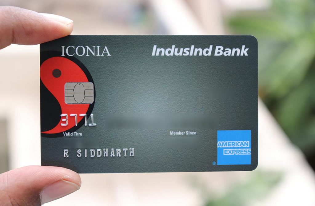 IndusInd Iconia Amex Credit Card