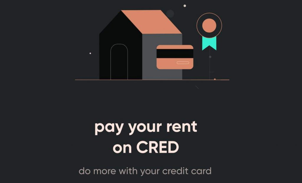 pay rent with credit card using Cred