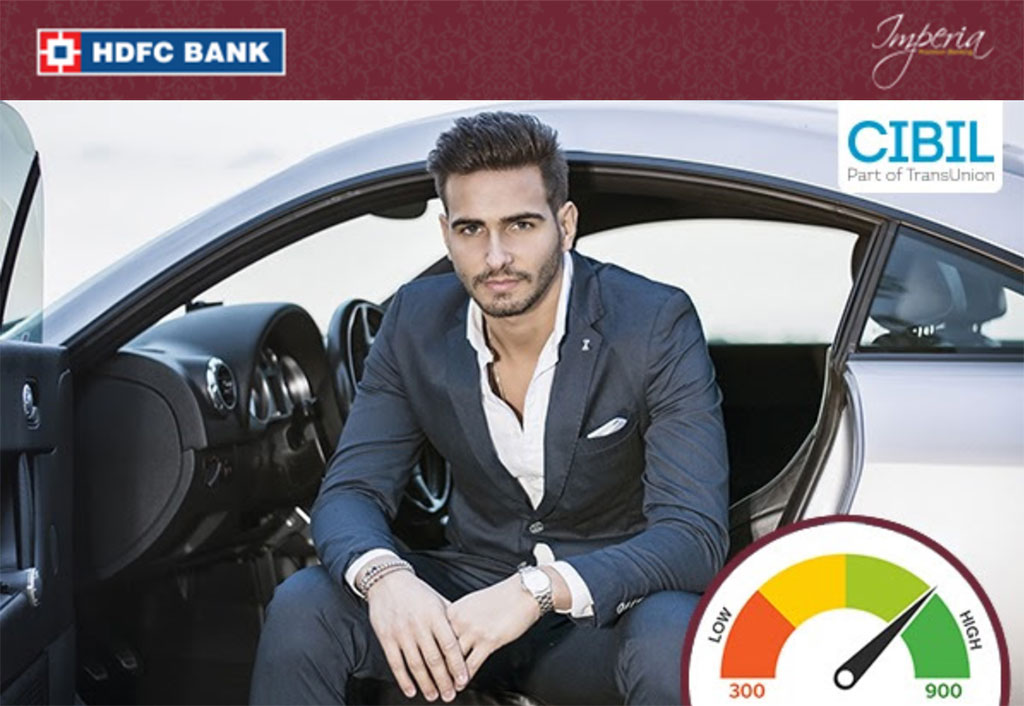 Free CIBIL Report from HDFC