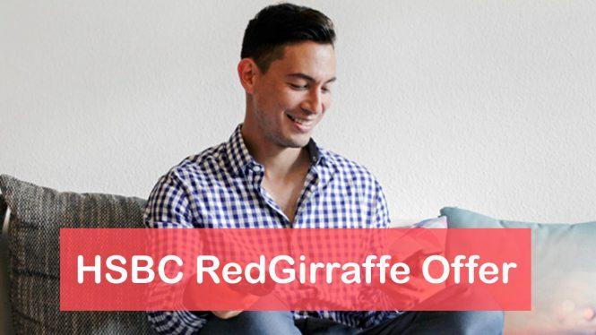 HSBC RedGirraffe Offer on RentPay