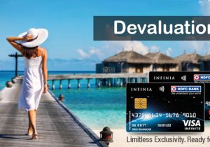 HDFC Limits Reward Redemptions to 70% of booking value on Infinia & Diners Black Credit Cards