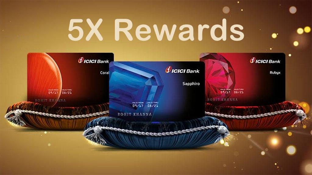 Amex 5x rewards offer - ICICI bank