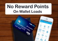 sbicard no reward points on wallet loads