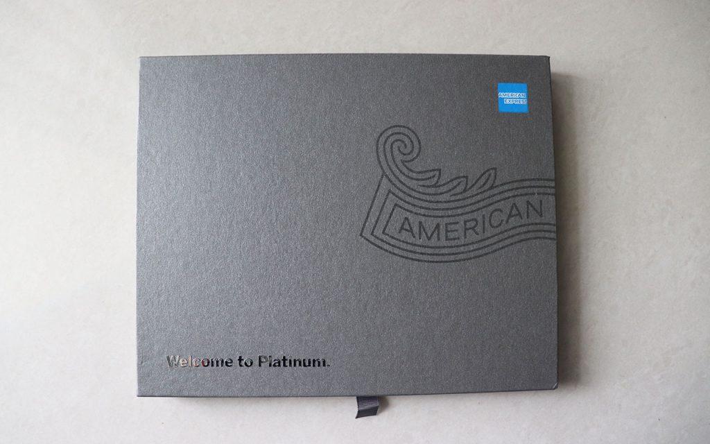 amex platinum card box