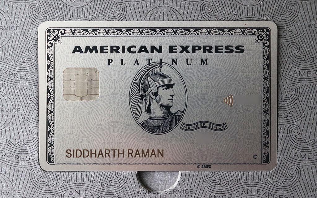 amex platinum card - closer look