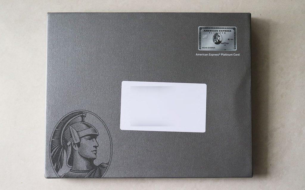 amex platinum cover box