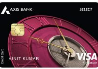 Axis Select credit card re-launch
