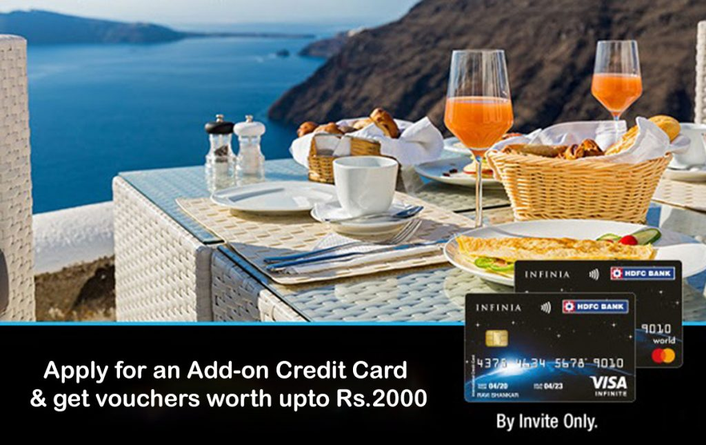 HDFC Add-on Credit Card Offer