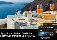 HDFC Offer: Get Vouchers worth upto Rs.2000 per Add-on Card