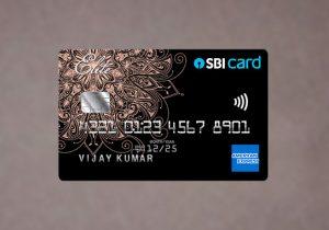SBI Card ELITE amex