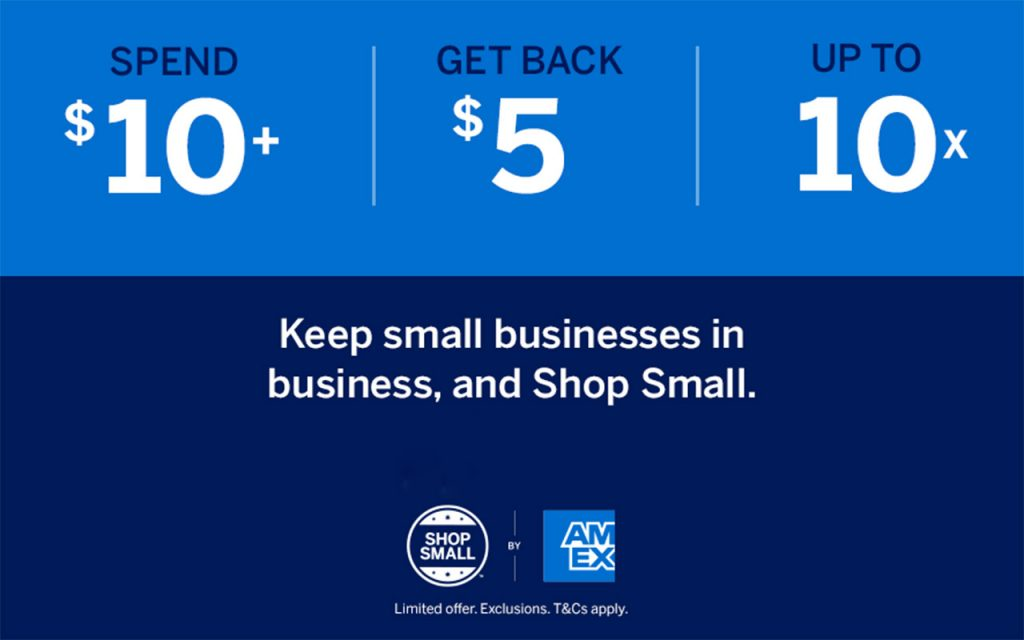 Amex Shop Small Offer US