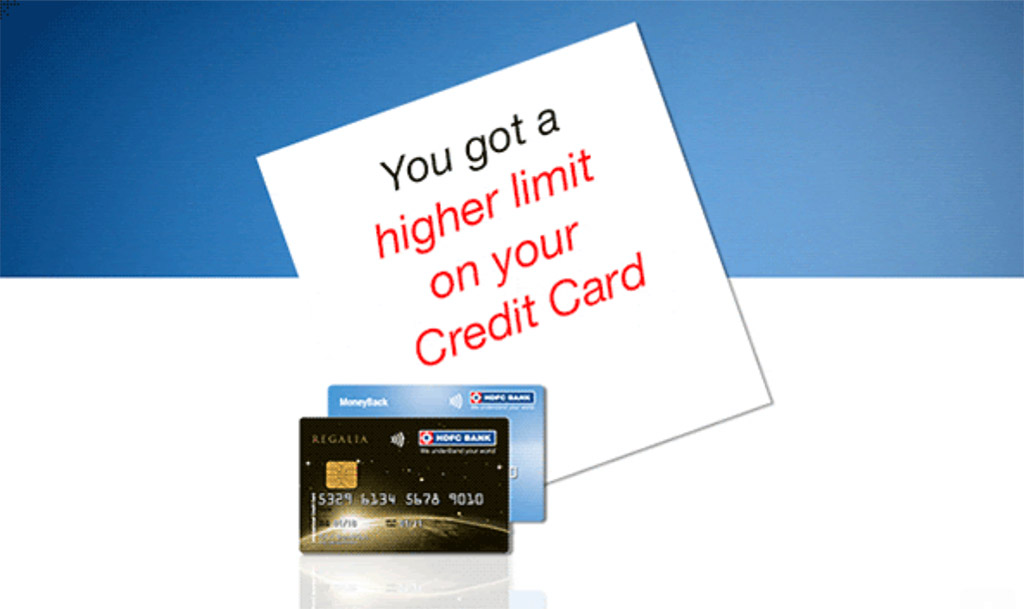 HDFC Auto Credit Limit Enhancement