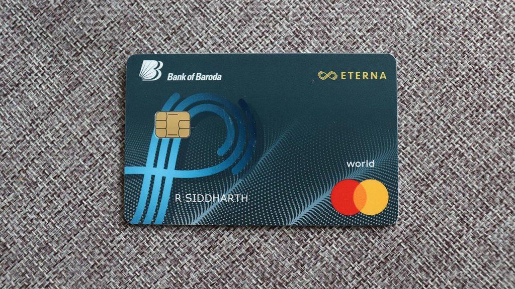 bob eterna credit card design