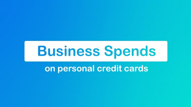 Business Spends on personal credit cards