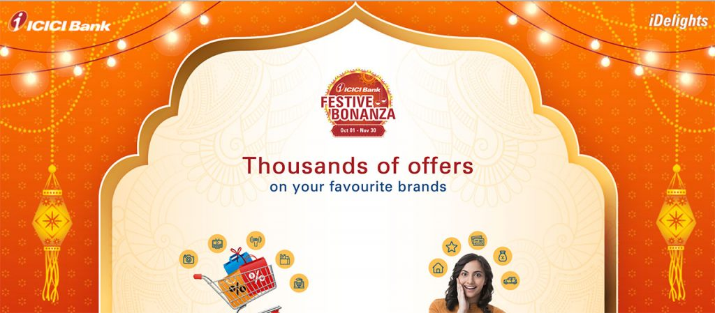 icici bank festive offers diwali 2020