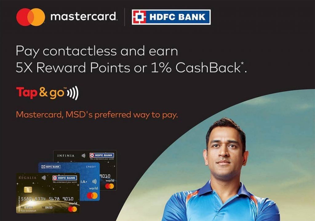 HDFC Tap n Pay offer