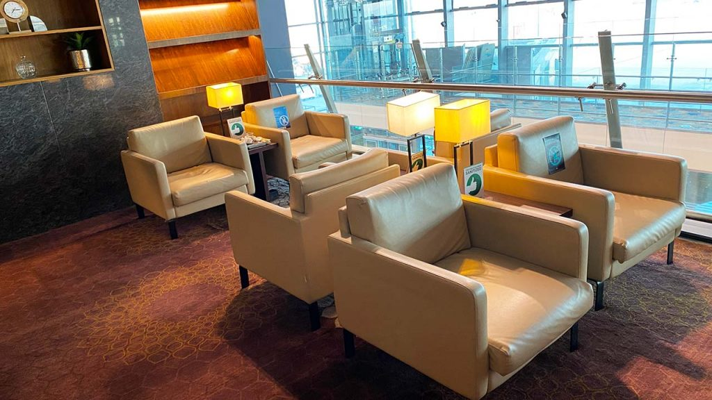 BLR Domestic Lounge - Business Class Section - Seating Area