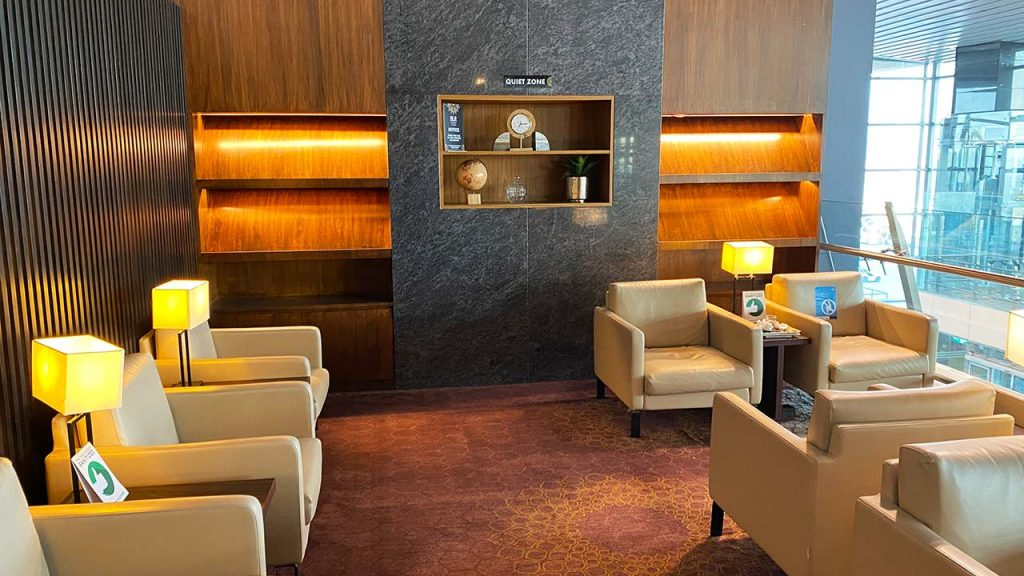 BLR Domestic Lounge - Business Class Section - Interiors