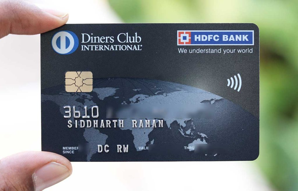 HDFC Diners Black Credit Card
