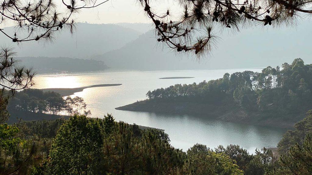 North East India - Umiam lake - Shillong, Meghalaya