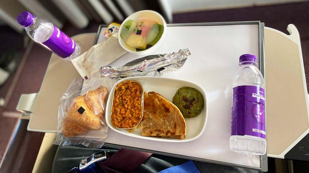 Vistara Business Class Food - Non Veg