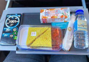 Vistara Premium Economy Food