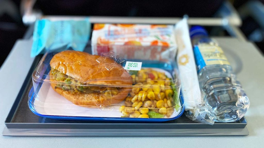 Vistara Premium Economy Food - Veg