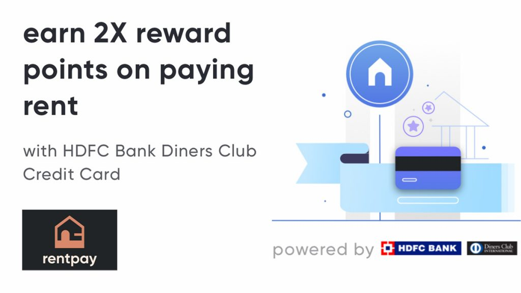 Cred RentPay HDFC Diners Offer